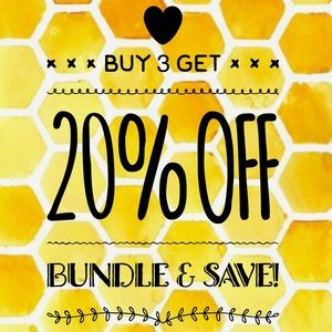 Buy 3 Get 20% Off • Bundle & Save!
